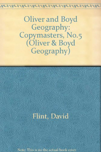 9780050051238: Oliver and Boyd Geography: Copymasters, No.5 (Oliver & Boyd Geography)