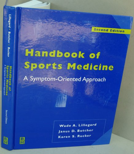 9780050640418: Handbook of Sports Medicine: A Symptom-Oriented Approach