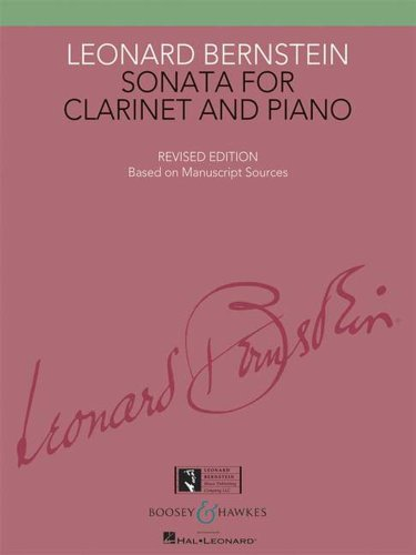 9780051107477: Sonata for Clarinet and Piano - Revised Edition - Based on Manuscript Sources - clarinet and piano - ( BHI 10747 )