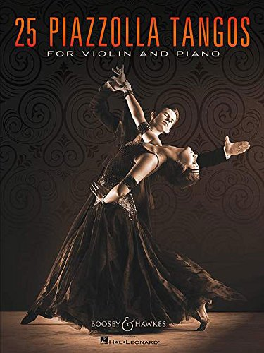 9780051107873: 25 Piazzolla Tangos - violin and piano - ( BHI 10787 )