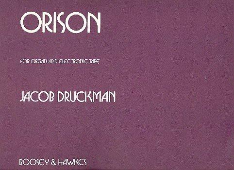 9780051230311: Orison (solo or w/tape). Partituras para Órgano