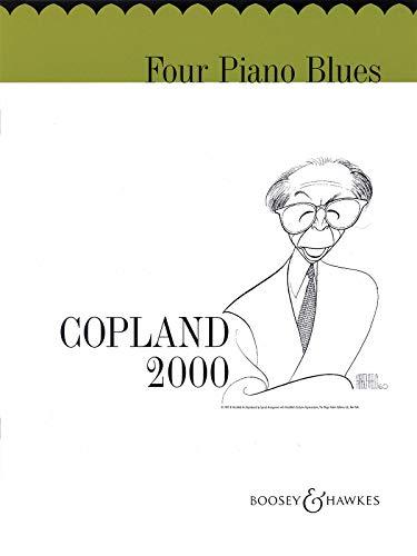 9780051240754: BOOSEY & HAWKES COPLAND AARON - FOUR PIANO BLUES - PIANO Jazz&blues sheet Piano