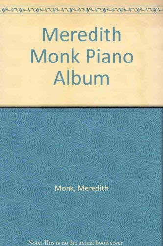 9780051246312: Meredith Monk Piano Album