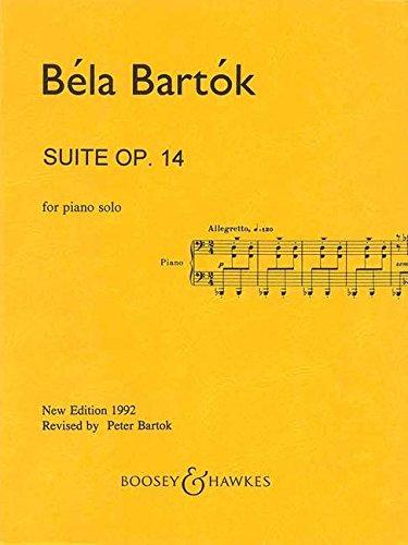 9780051280422: SCHOTT BARTOK B. - SUITE OP. 14 - PIANO Classical sheets Piano