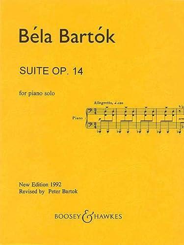 9780051280422: Bartók: Suite for Piano, Op. 14 (Sz. 62, BB 70)