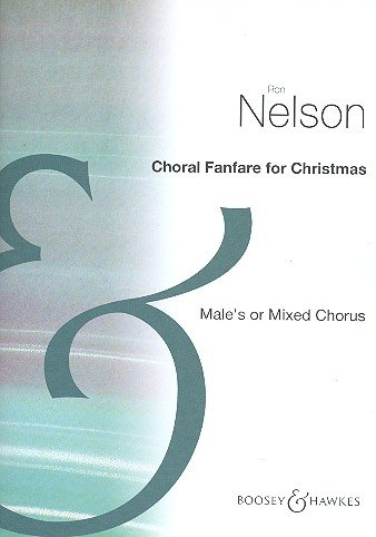 9780051453376: Choral Fanfare for Christmas