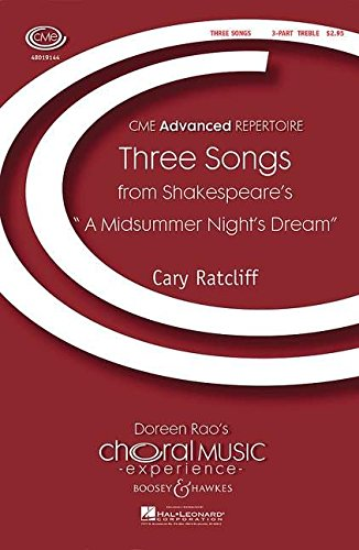 9780051476849: Three Songs (from Shakespeare's 'A Midsummer Night's Dream')