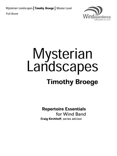 9780051659792: Mysterian Landscapes
