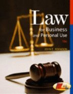 9780053843625: Law for Business and Personal Use