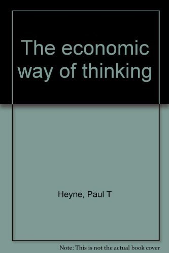 9780057419253: The economic way of thinking [Paperback] by Heyne, Paul T