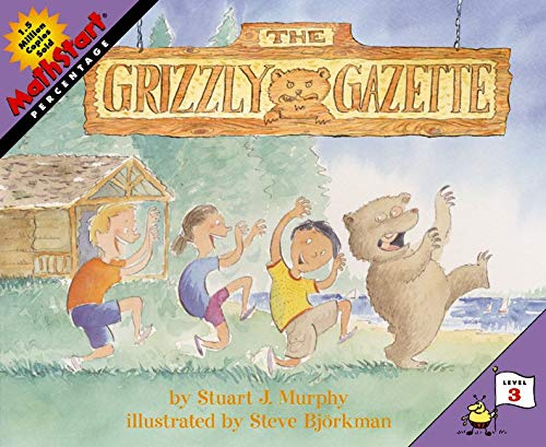 9780060000264: The Grizzly Gazette (Mathstart: Level 3 (HarperCollins Paperback))