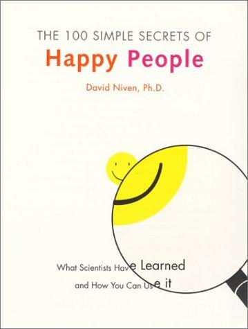 9780060000912: 100 Simple Secrets of Happy People - Hallmark Edition