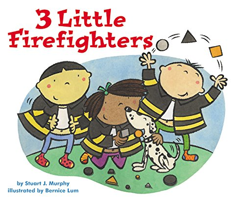 9780060001186: 3 Little Firefighters (MathStart 1)