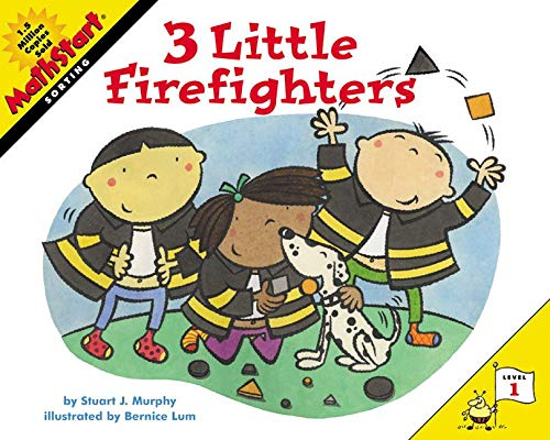 9780060001209: 3 Little Firefighters (MathStart 1)