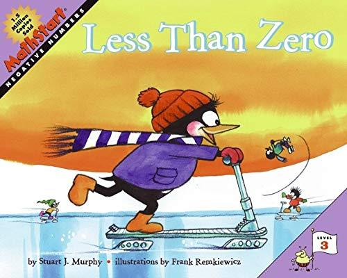 9780060001261: Less Than Zero (MathStart 3)