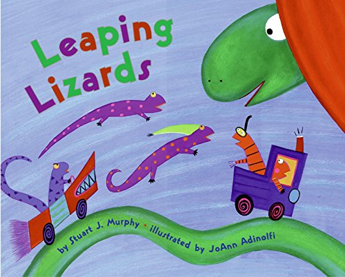 9780060001308: Leaping Lizards (MathStart 1)