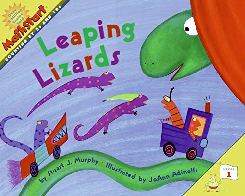 9780060001322: Leaping Lizards (MathStart 1)