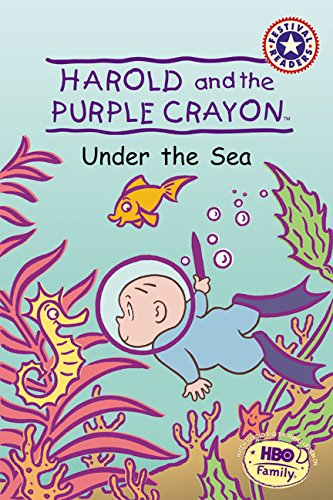 9780060001780: Harold and the Purple Crayon: Under the Sea (Festival Readers)