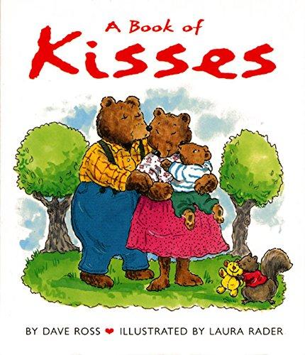 A Book of Kisses Board Book [Board