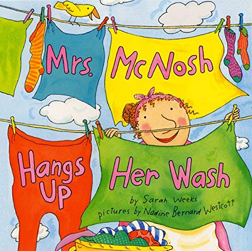 9780060004798: Mrs. McNosh Hangs Up Her Wash (Laura Geringer Books (Paperback))