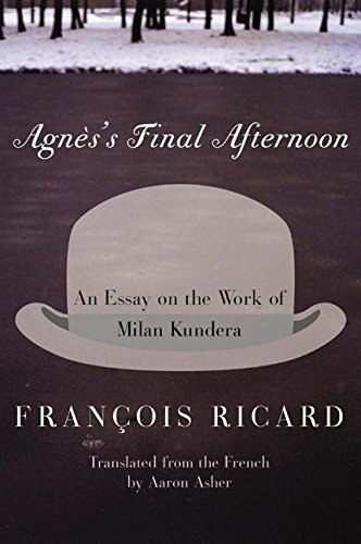 Agnes's Final Afternoon: An Essay on the: Ricard, Francois; Asher,