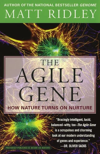 9780060006792: The Agile Gene: How Nature Turns on Nurture