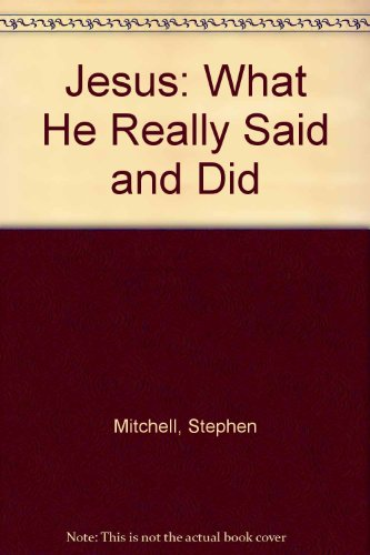 9780060007072: Jesus: What He Really Said and Did