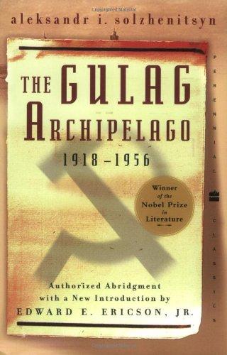 9780060007768: The Gulag Archipelago 1918-1956 (Perennial Classics)