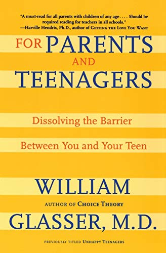 9780060007997: For Parents and Teenagers: Dissolving the Barrier Between You and Your Teen