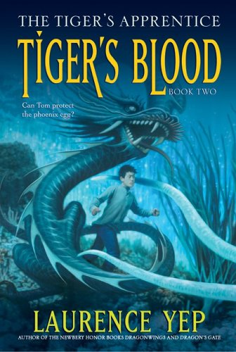 9780060010188: Tiger's Blood: The Tiger's Apprentice, Book Two