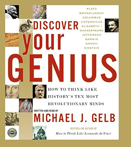 9780060011871: Discover Your Genius, CD: How to Think Like History's Ten Most Revolutionary Mind