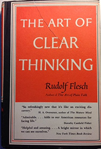 9780060014407: Art of Clear Thinking