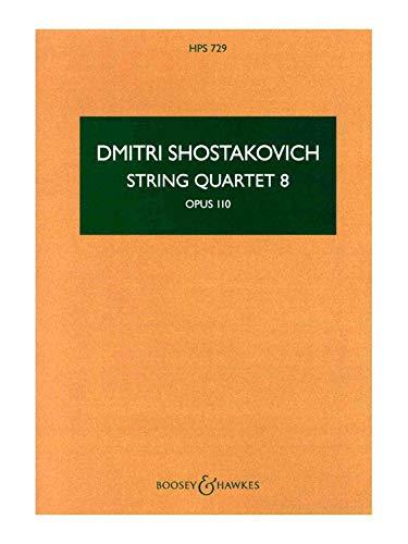 9780060024314: String Quartet No. 8 op. 110