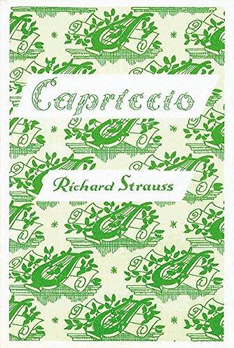 9780060025434: Capriccio op. 85 (A Conversation Piece for Music)
