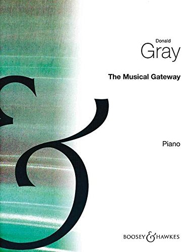 9780060031374: The Musical Gateway (Very First Piano Lessons)