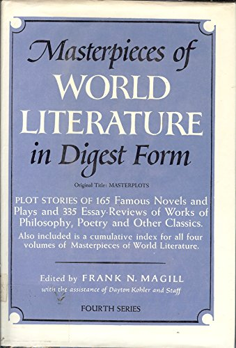 9780060037512: Masterpieces of World Literature in Digest Form, Series 4