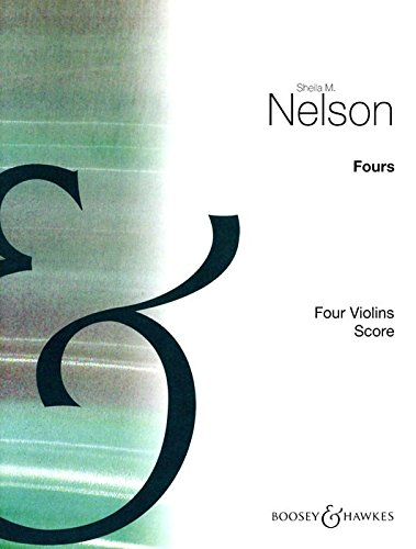 9780060039219: BOOSEY & HAWKES NELSON SHEILA MARY - FOURS - 2-4 VIOLINS Partition classique Cordes Violon