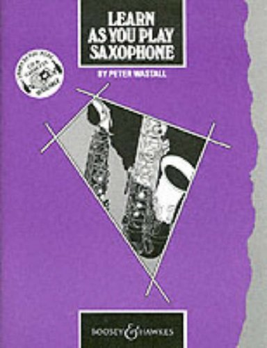 9780060063795: Learn as You Play: Saxophone