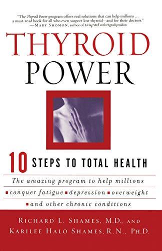 9780060082222: Thyroid Power: Ten Steps to Total Health