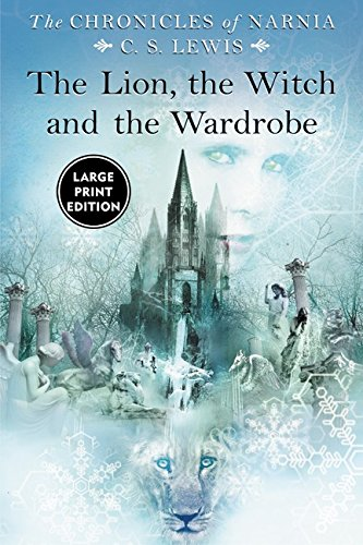 9780060082406: Lion, the Witch and the Wardrobe Large Print, The
