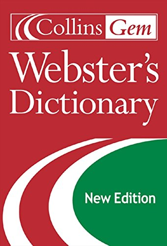9780060085667: Collins Gem Webster's Dictionary (2nd Edition)