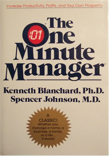 9780060085797: The One Minute Manager