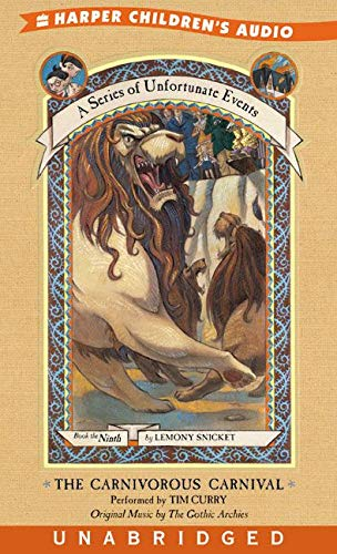 9780060087814: The Carnivorous Carnival (A Series of Unfortunate Events, Book 9)
