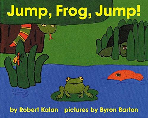 Jump, Frog, Jump! Board Book: Kalan, Robert