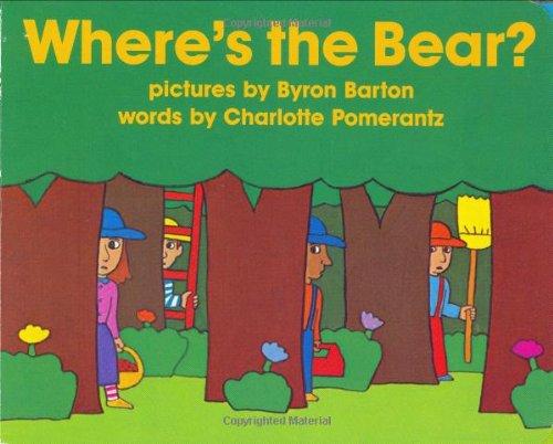 9780060088200: Where's the Bear? Board Book