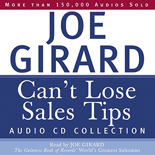 9780060089337: Can't Lose Sales Tips Audio CD Collection