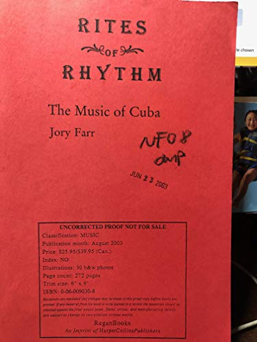 9780060090319: Rites of Rhythm: The Music of Cuba
