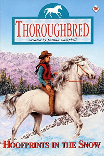 9780060090487: Hoofprints in the Snow (Thoroughbred #56)