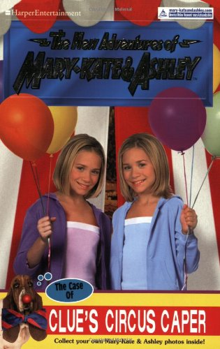 9780060093334: New Adventures of Mary-Kate & Ashley #35: The Case of Clue's Circus Caper: The Case of Clue's Circus Caper