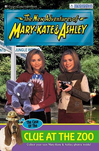 9780060093433: New Adventures of Mary-Kate & Ashley #39: The Case of the Clue at the Zoo: (The Case of the Clue at the Zoo)